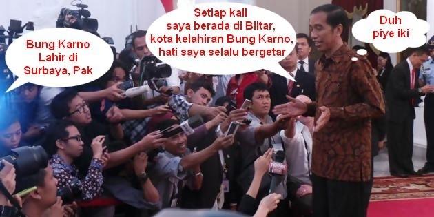 Jokowi-dicaci