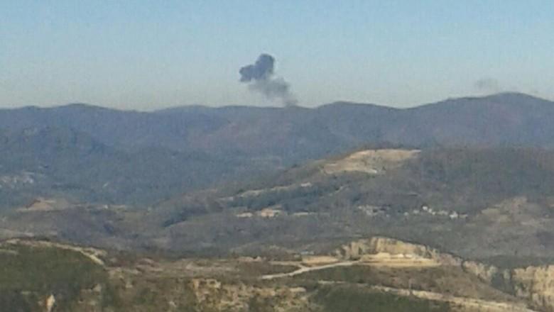 lokasi jatuhnya pesawat sukhoi su-24 rusia