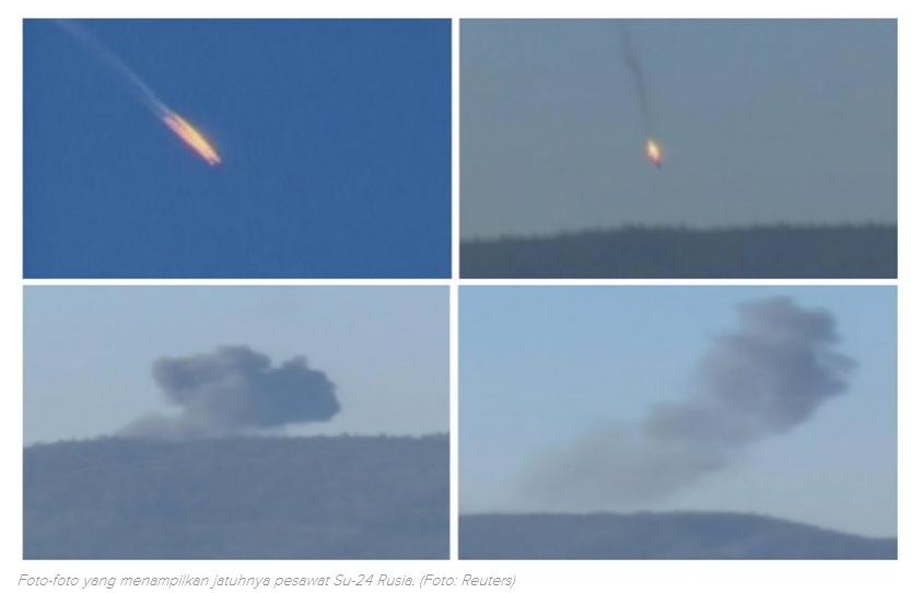 sukhoi su-24 rusia jatuh